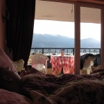 Stay in bed all day watching the view