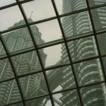 Petronas towers from out and inside