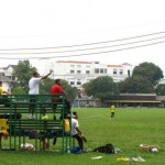 Football on the Padang