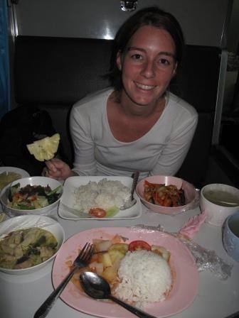 "Dinner in the ""International Express (Ekspress Antarabangsa)"""