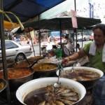 Woman Selling street food