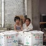 Little girls in Yangmei