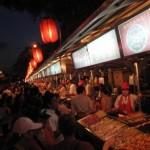 Night market, Beijing