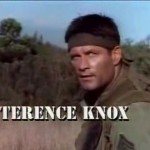 """Terence Knox as Philip in """"Tour of duty"""""""